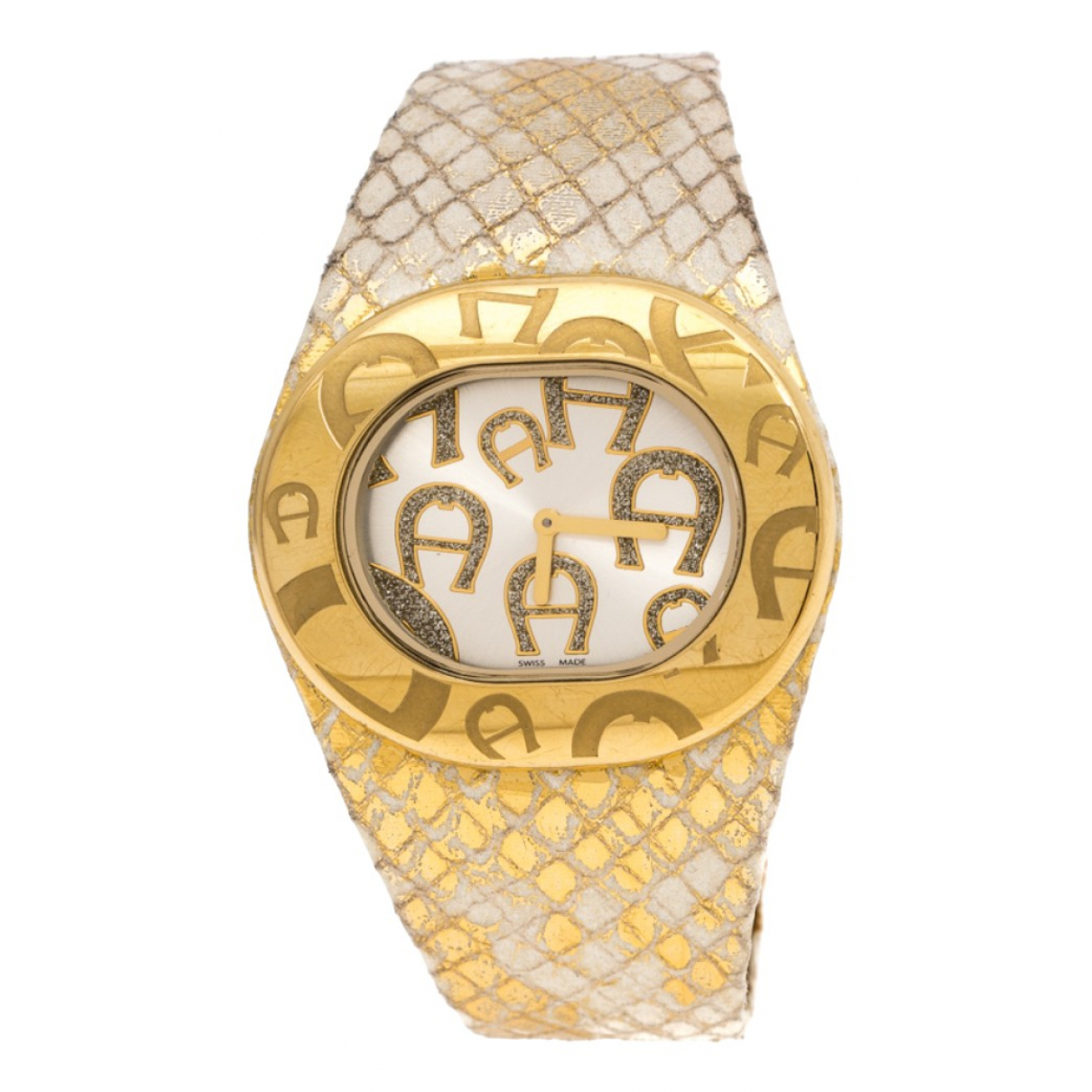 Aigner \N Gold plated watch for Women \N