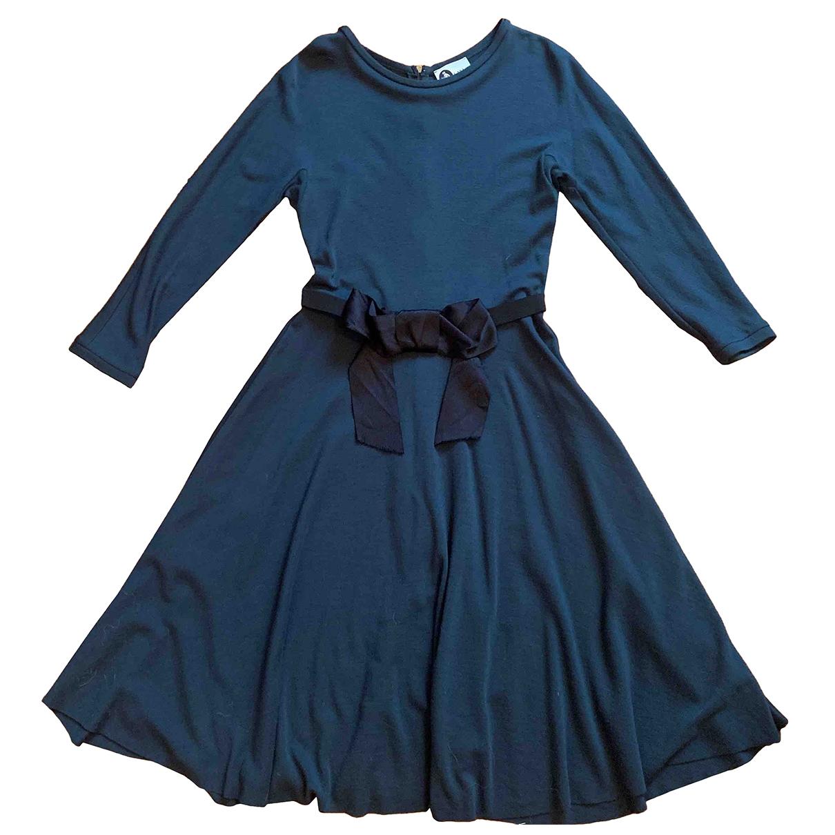 Lanvin - Robe   pour femme en laine - vert