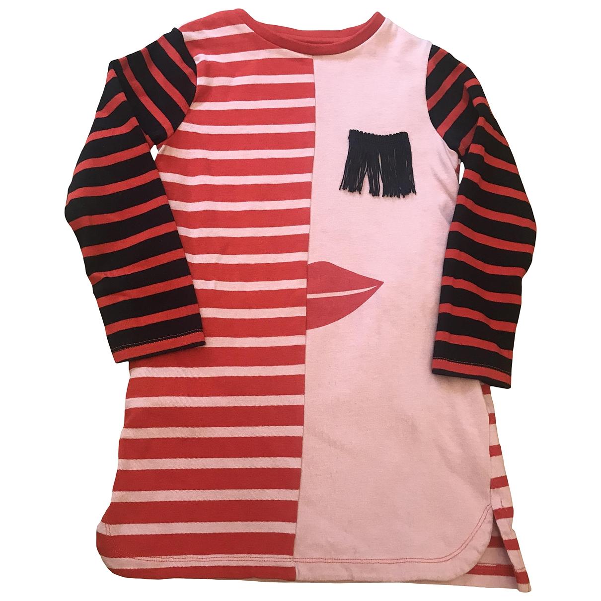 Stella Mccartney Kids - Robe    pour enfant en coton - rouge