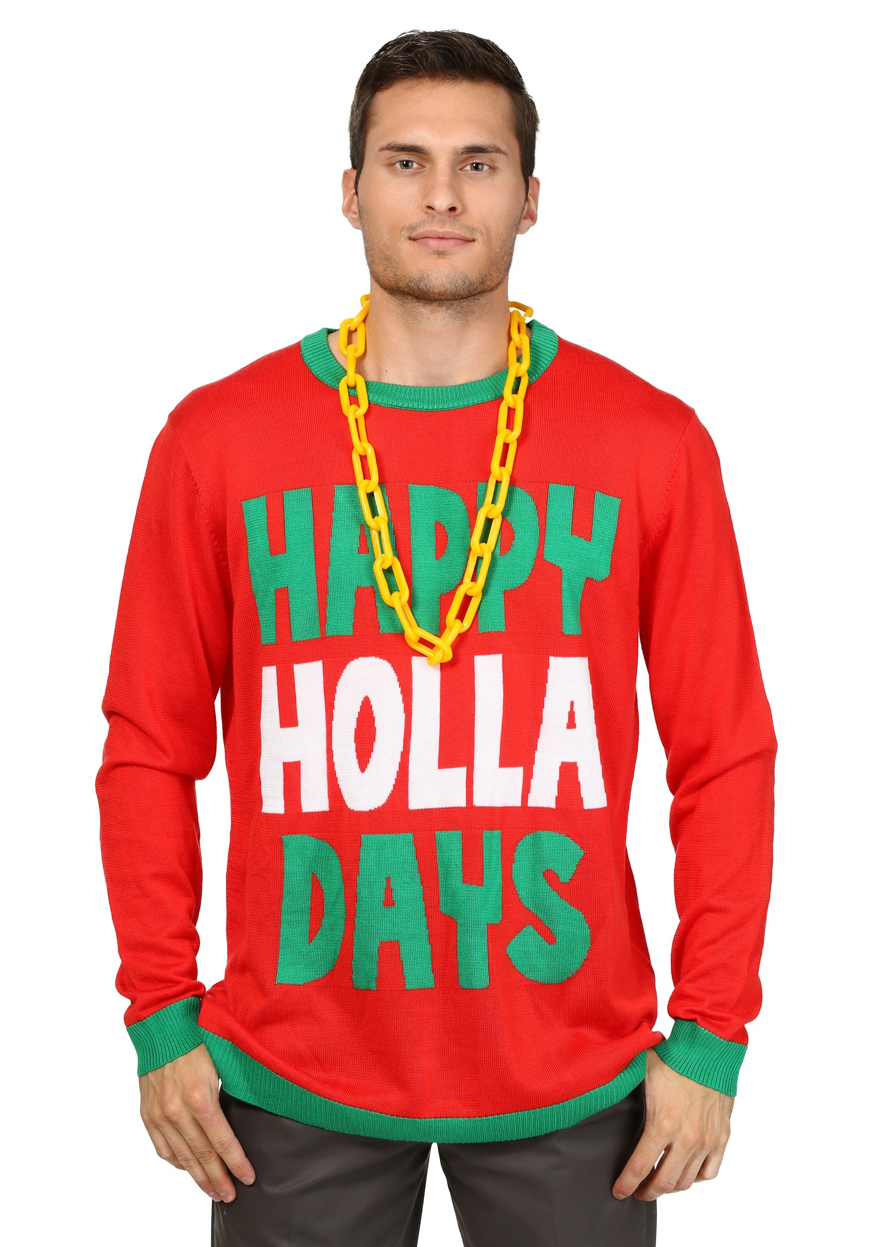 Happy Holla Days Ugly Christmas Sweater