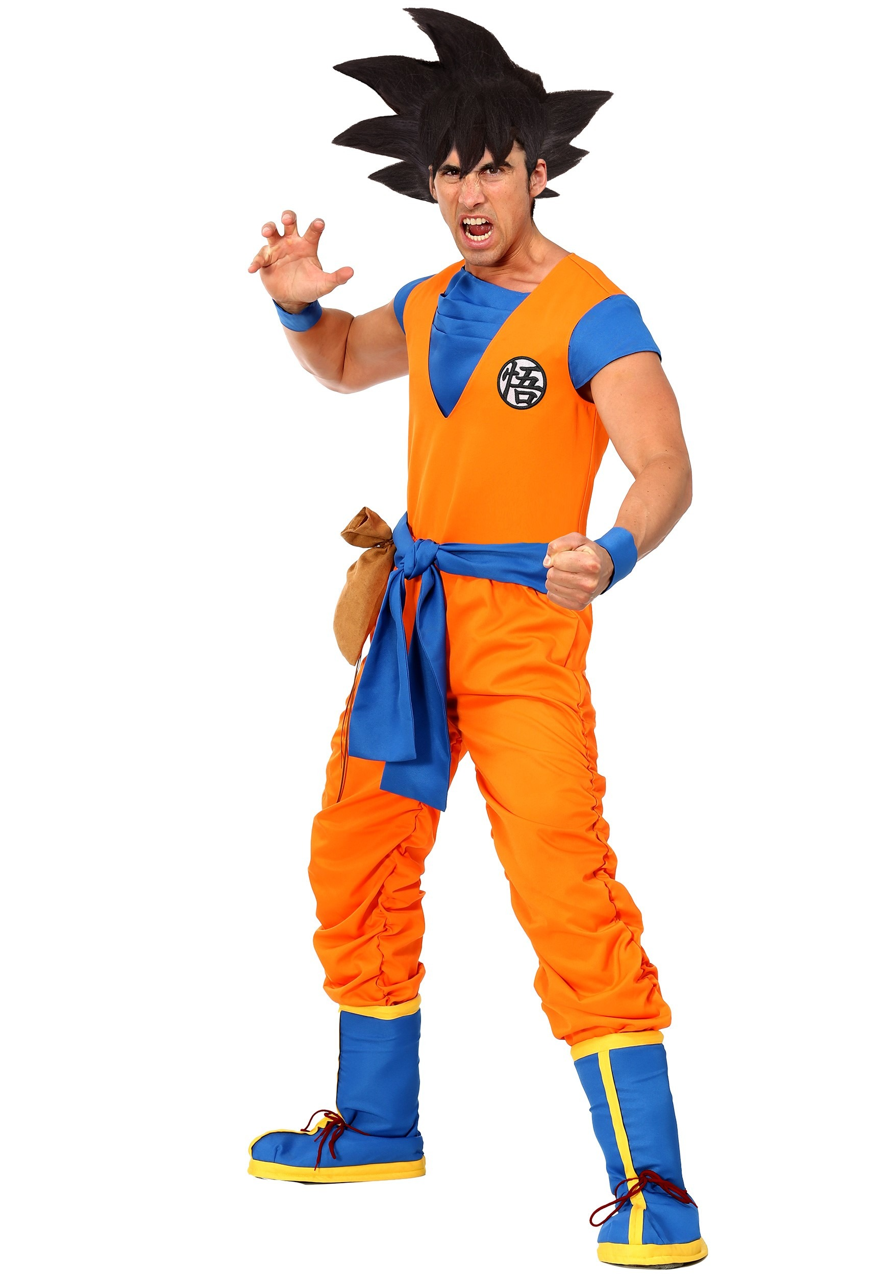 Authentic Dragon Ball Z Goku Costume for Adults
