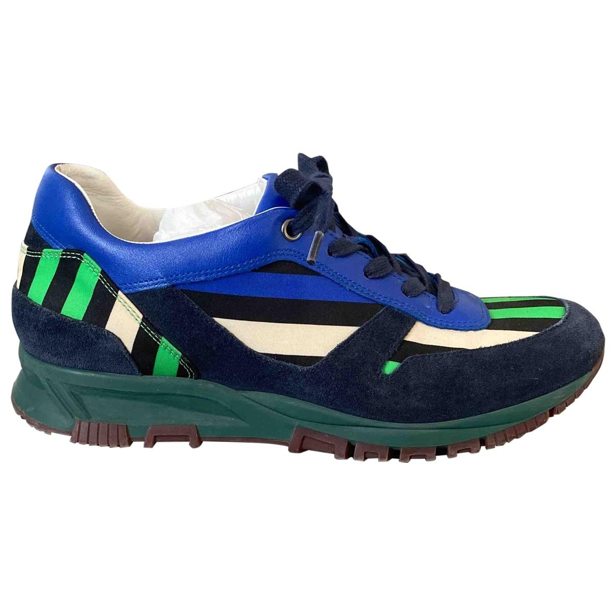 Lanvin \N Sneakers in  Bunt Leder