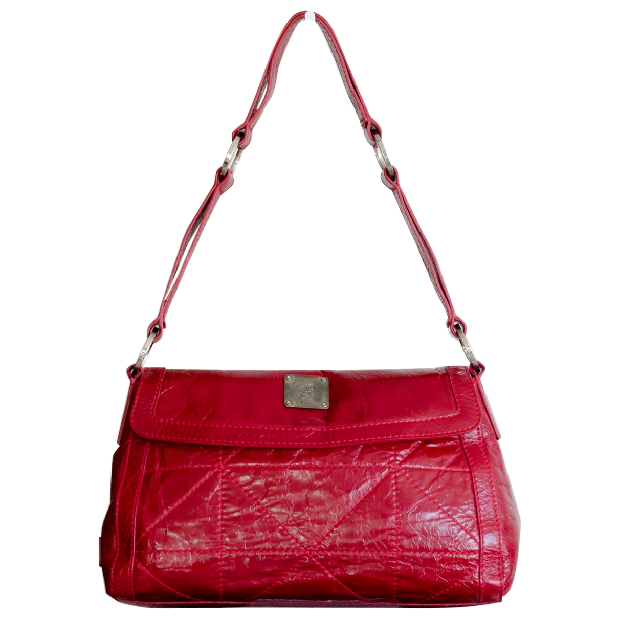 Guy Laroche \N Handtasche in  Rot Lackleder