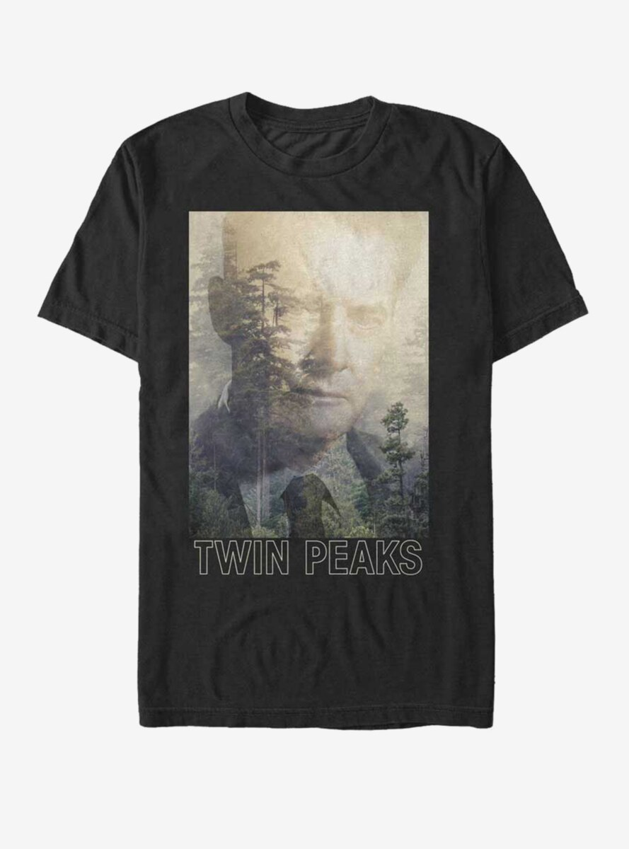 Twin Peaks Agent Cooper Poster T-Shirt