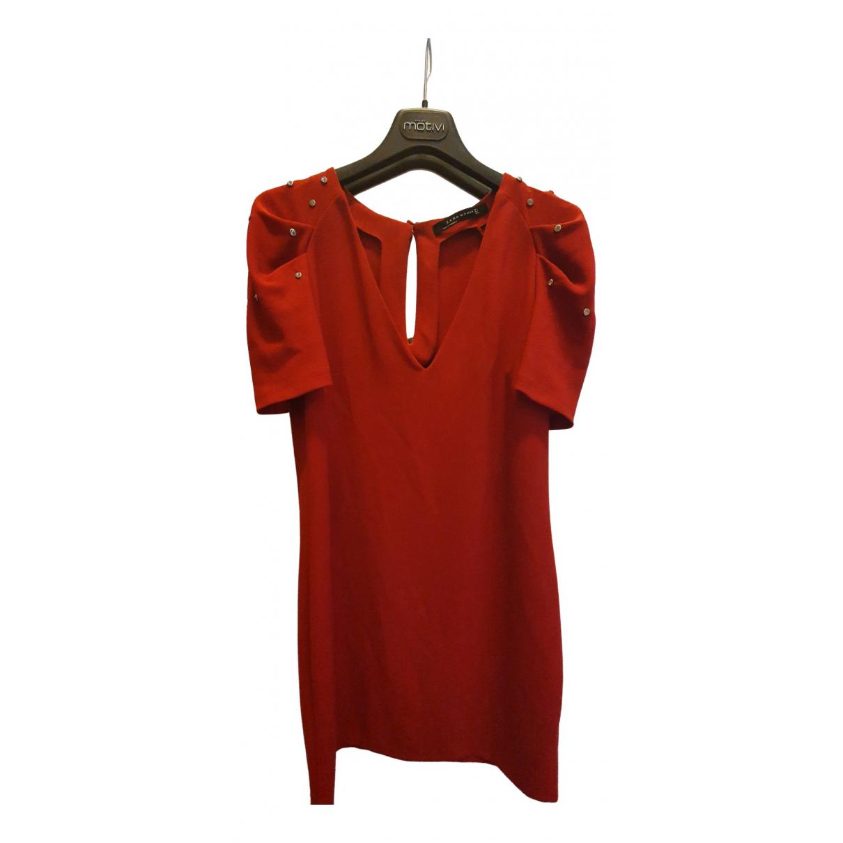 Zara \N Red dress for Women 42 IT