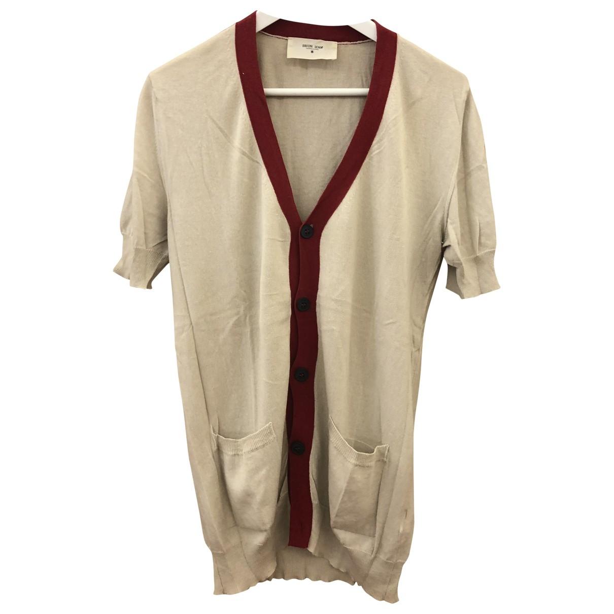 Mauro Grifoni \N Pullover.Westen.Sweatshirts  in  Beige Baumwolle