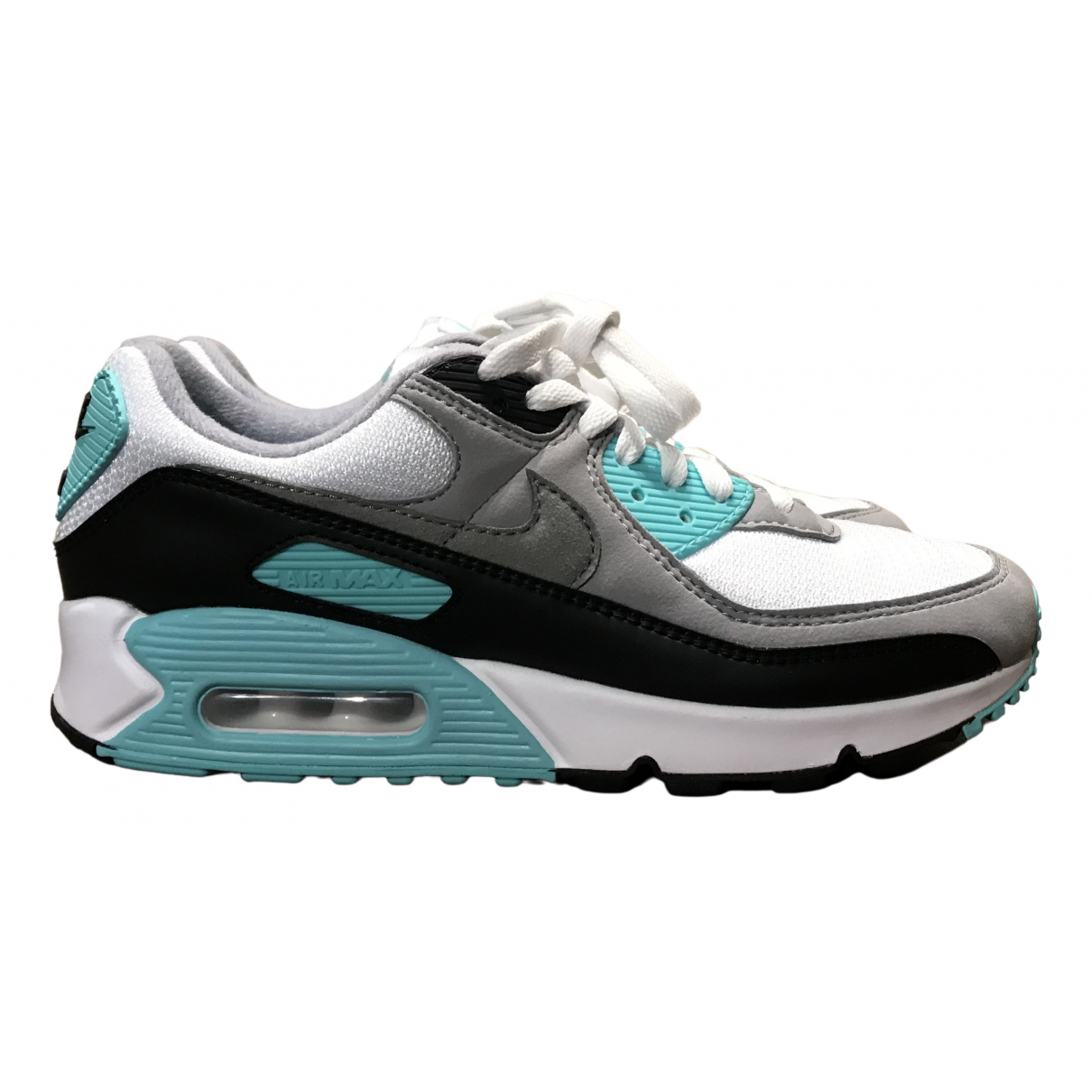 Nike Air Max 90 Turquoise Cloth Trainers for Men 41 EU