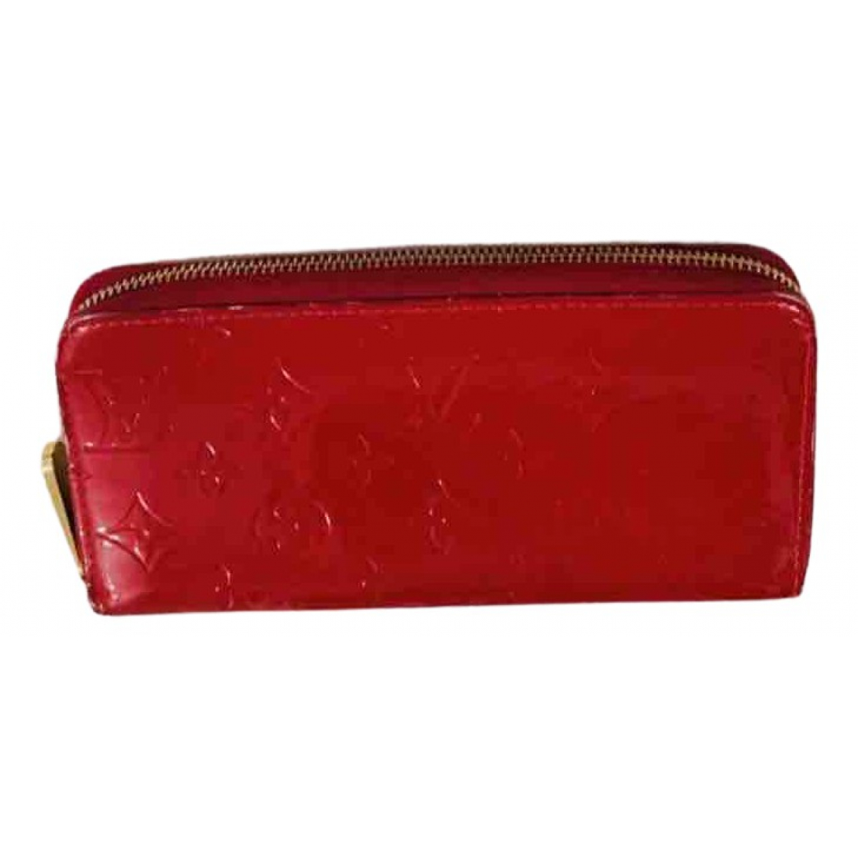 Louis Vuitton Zippy Red Patent leather wallet for Women \N