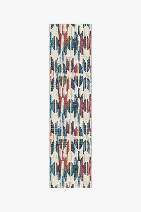 Washable Rug Cover & Pad | Hesperia Multicolor Rug | Stain-Resistant | Ruggable | 2.5'x10'