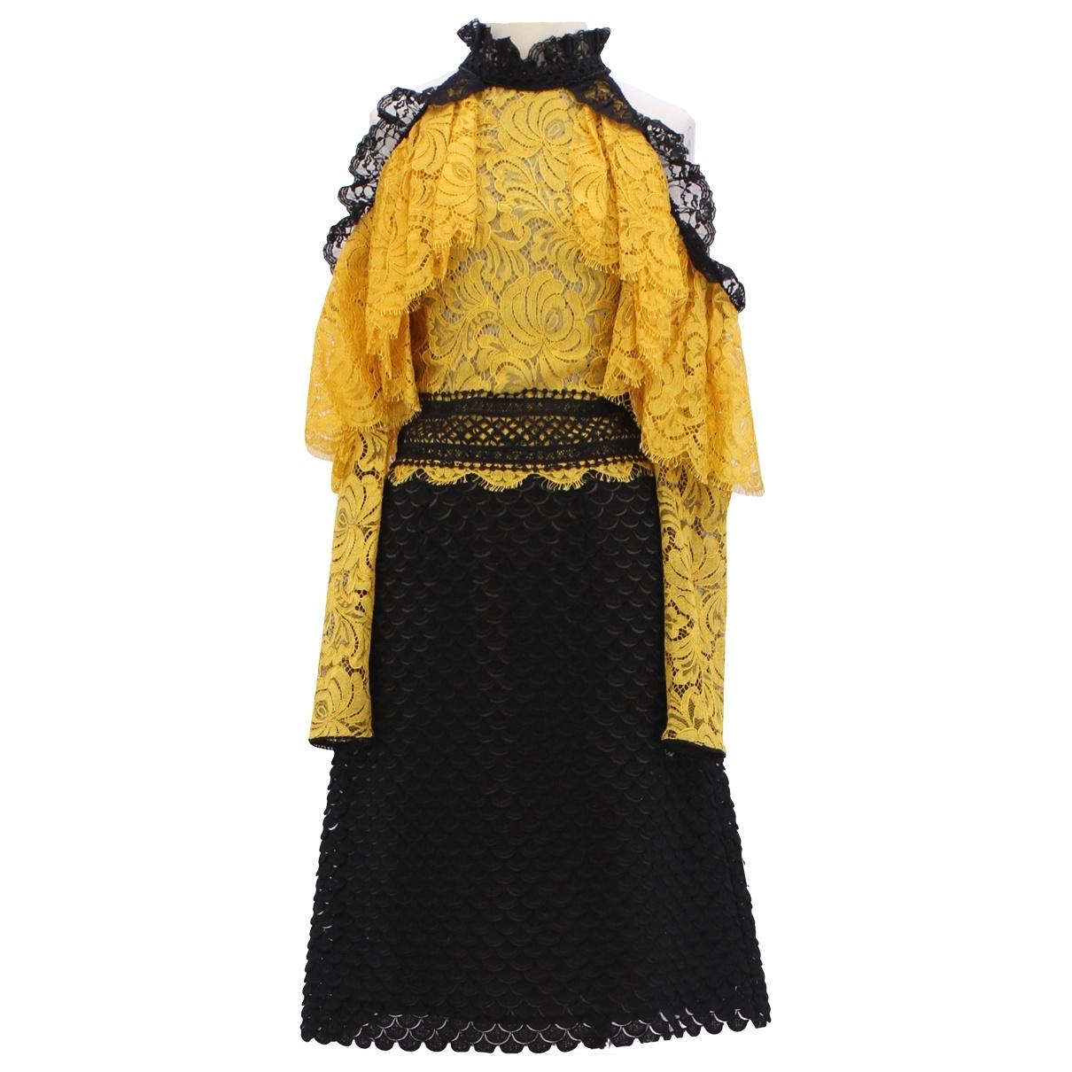 Costarellos \N Kleid in  Bunt Baumwolle