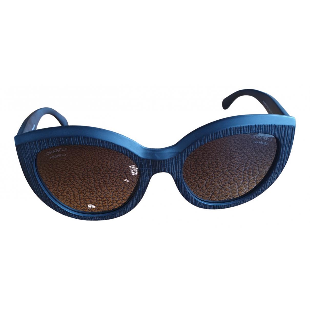 Chanel \N Sonnenbrillen in  Grau Kunststoff