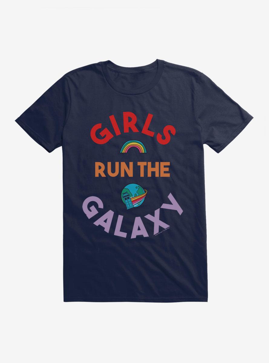 Doctor Who Thirteenth Doctor Run The Galaxy T-Shirt