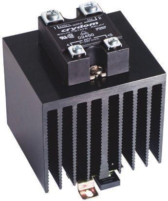 Sensata / Crydom 45 A Solid State Relay, Zero Cross, DIN Rail, 280 V ac Maximum Load