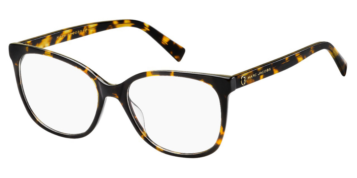 Marc Jacobs MARC 380 086 Women's Glasses Tortoise Size 53 - Free Lenses - HSA/FSA Insurance - Blue Light Block Available