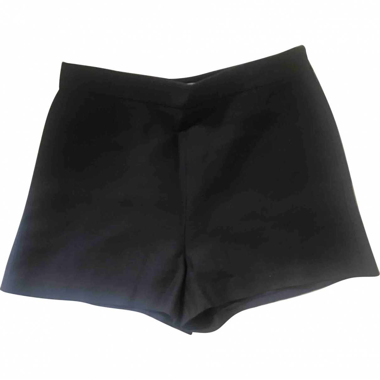 Valentino Garavani \N Black Wool Shorts for Women 40 IT