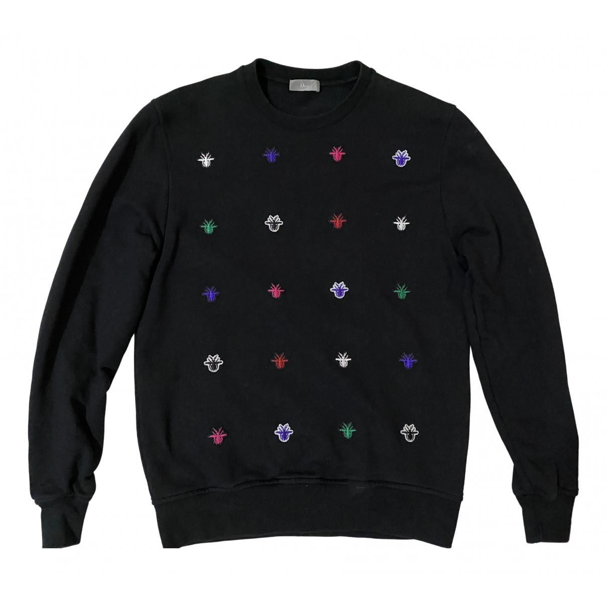 Dior Homme - Pulls.Gilets.Sweats   pour homme en coton - noir