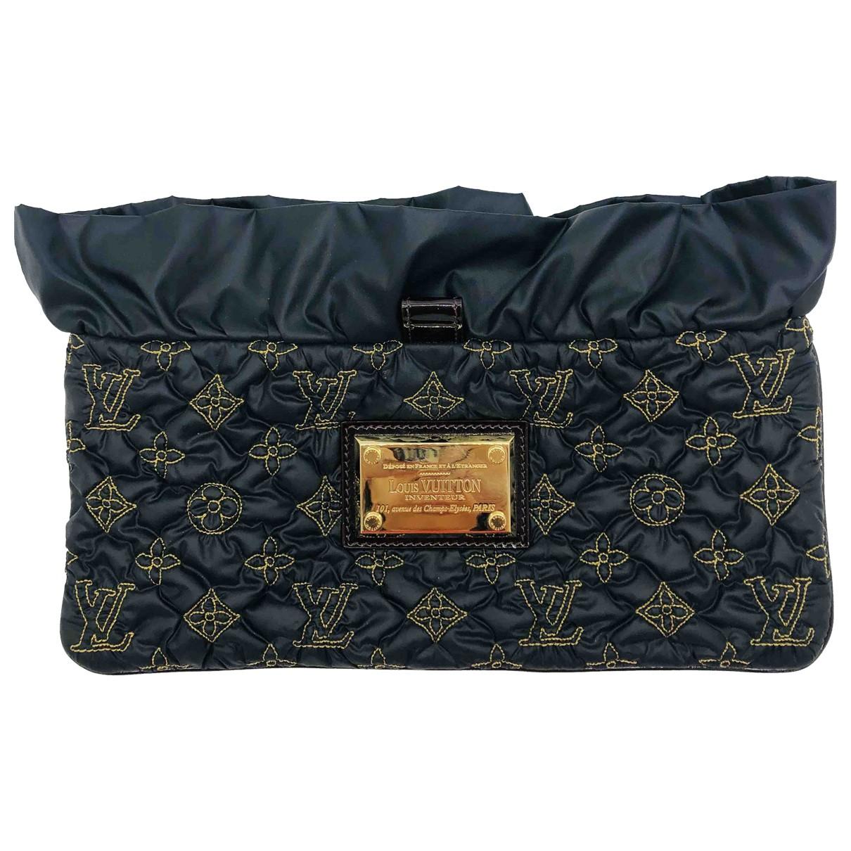 Louis Vuitton - Pochette   pour femme en toile - noir