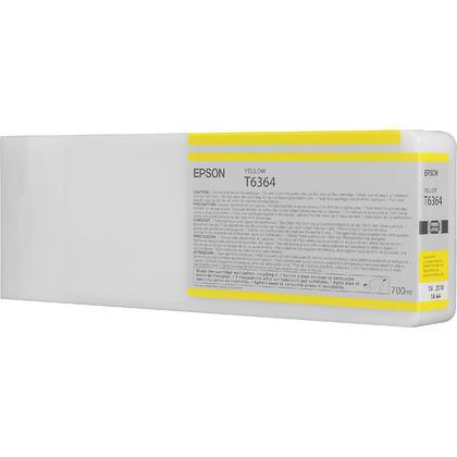 Epson T636400 700ml cartouche d'encre originale jaune haute capacité