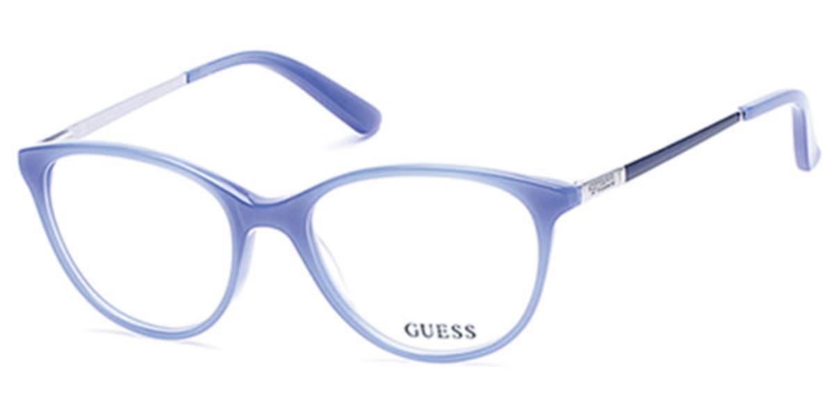Guess GU 2565 084 Women's Glasses Gold Size 52 - Free Lenses - HSA/FSA Insurance - Blue Light Block Available