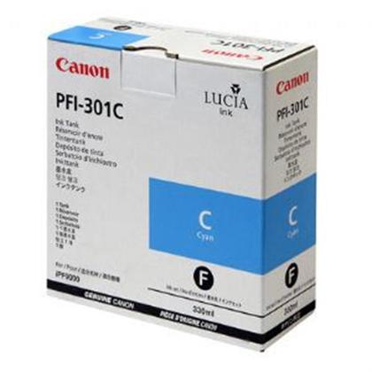 Canon PFI-301C 1487B001AA Original Pigment Cyan Ink Cartridge