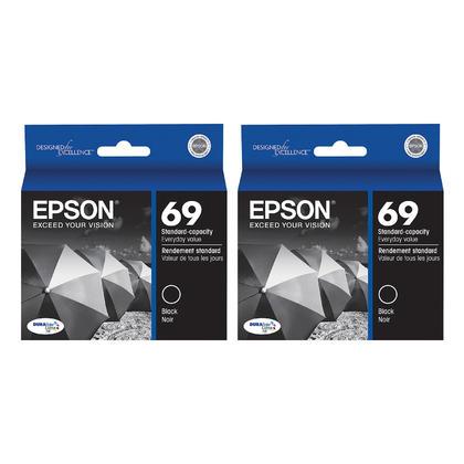 Epson T069120 cartouche d'encre originale noire double pack