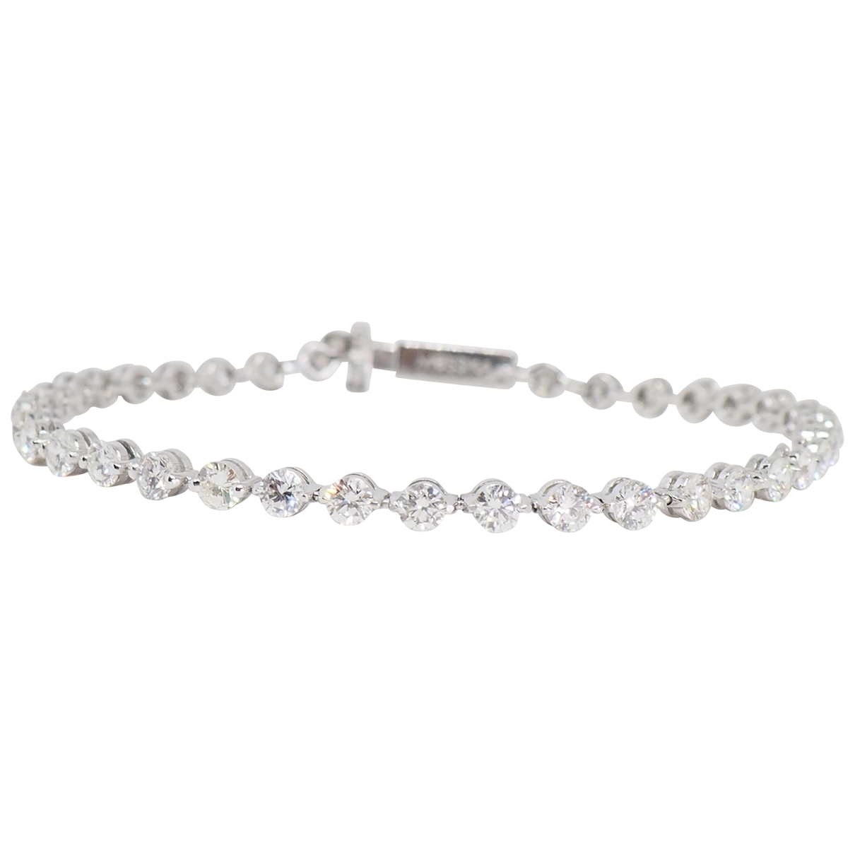 Messika \N Armband in  Weiss Weissgold