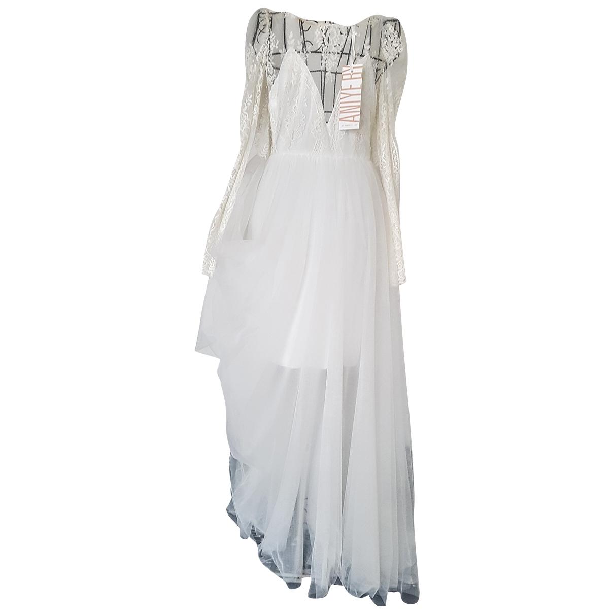 Aniye By - Robe   pour femme - blanc
