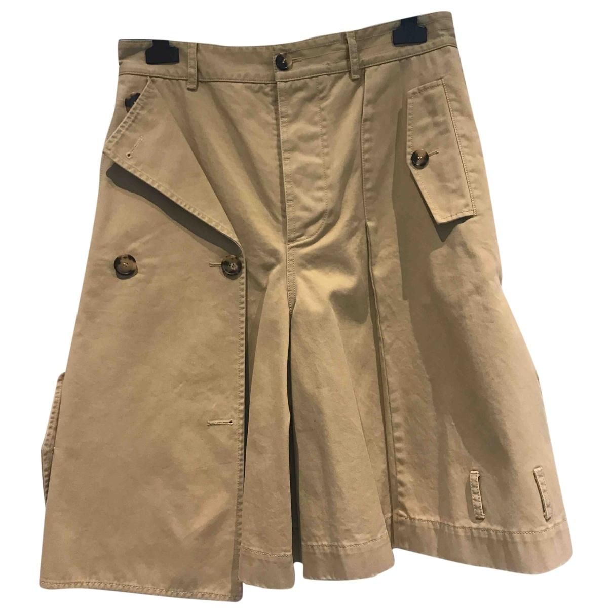 Loewe \N Shorts in  Kamel Baumwolle