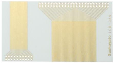 Sunhayato ICB-070, Single Sided Extender Board Board Seal FR4 55 x 100 x 0.1mm
