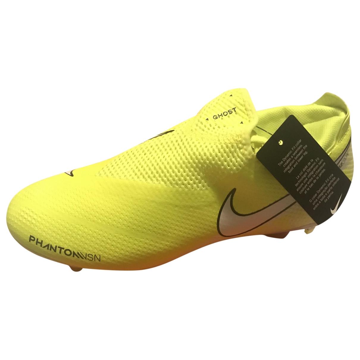 Nike \N Yellow Cloth Trainers for Men 42 EU