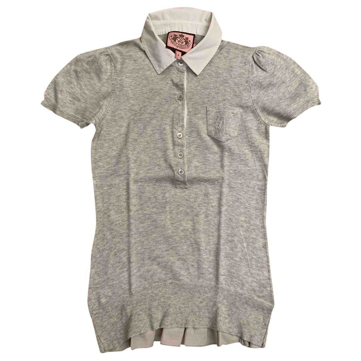 Juicy Couture - Pull   pour femme en coton - gris