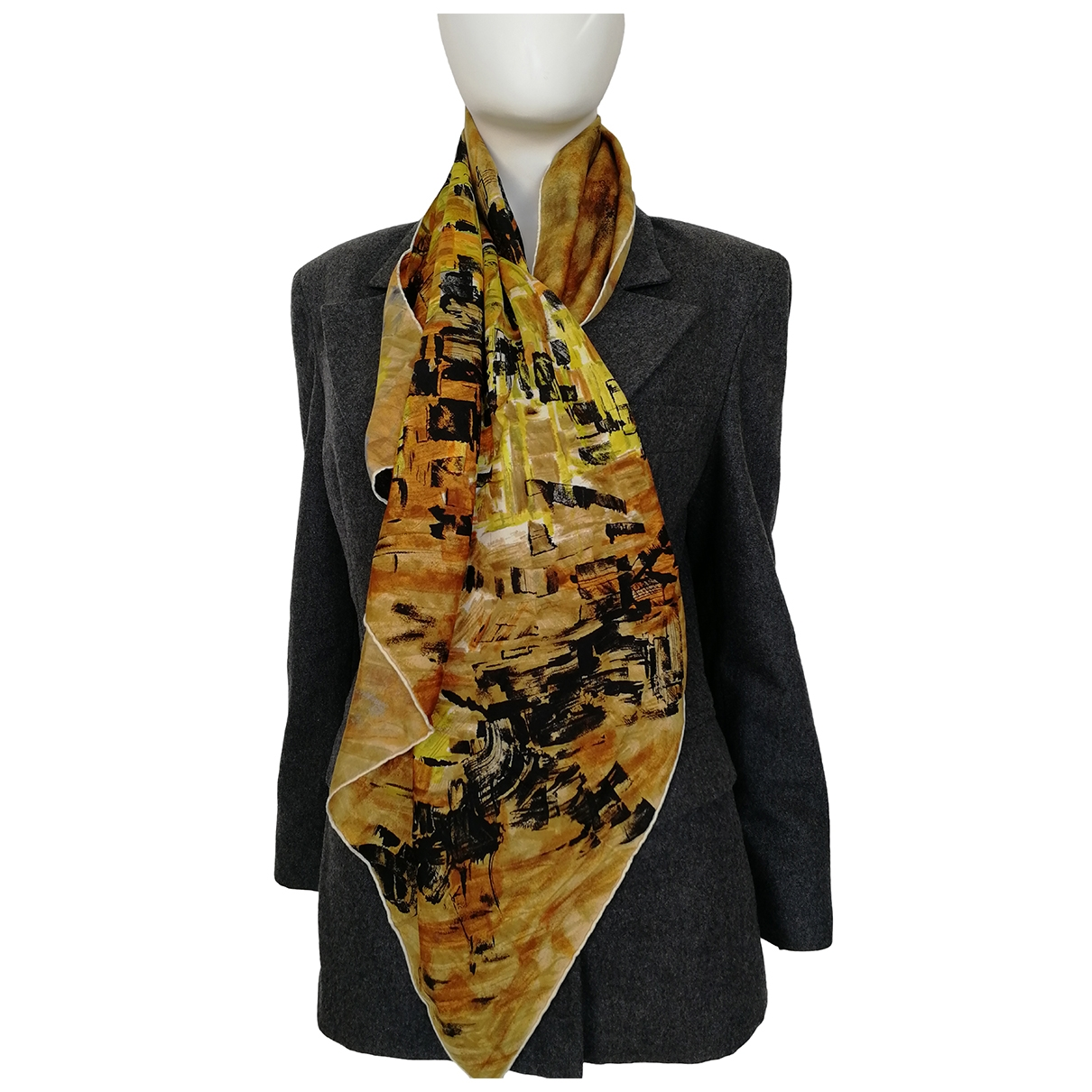 Lanvin \N Multicolour Silk scarf for Women \N