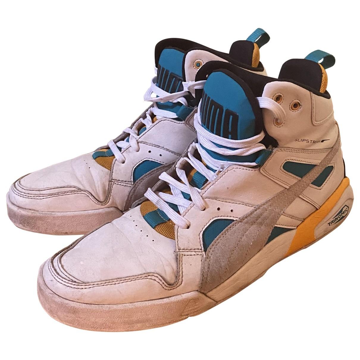 Puma - Baskets   pour homme en caoutchouc - blanc