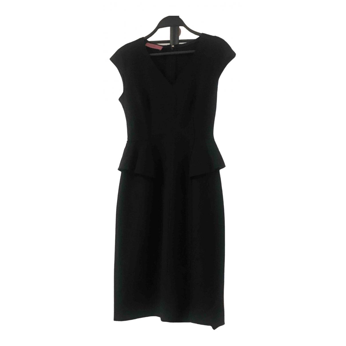 Carolina Herrera N Black Wool dress for Women 4 US
