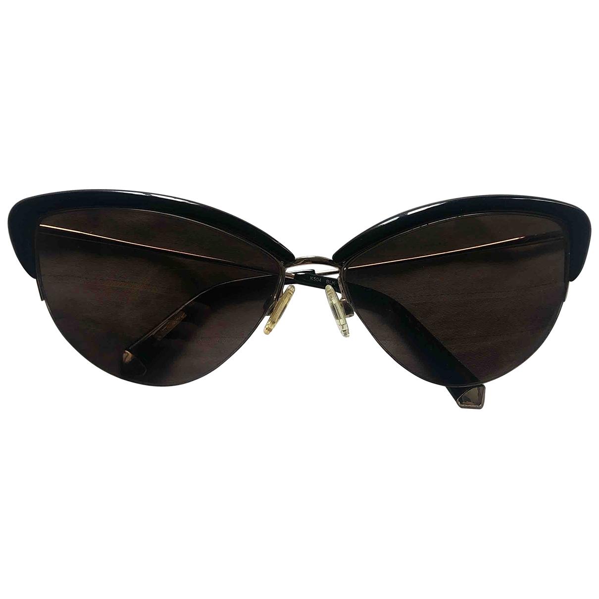 Non Signe / Unsigned \N Sonnenbrillen in  Schwarz Kunststoff