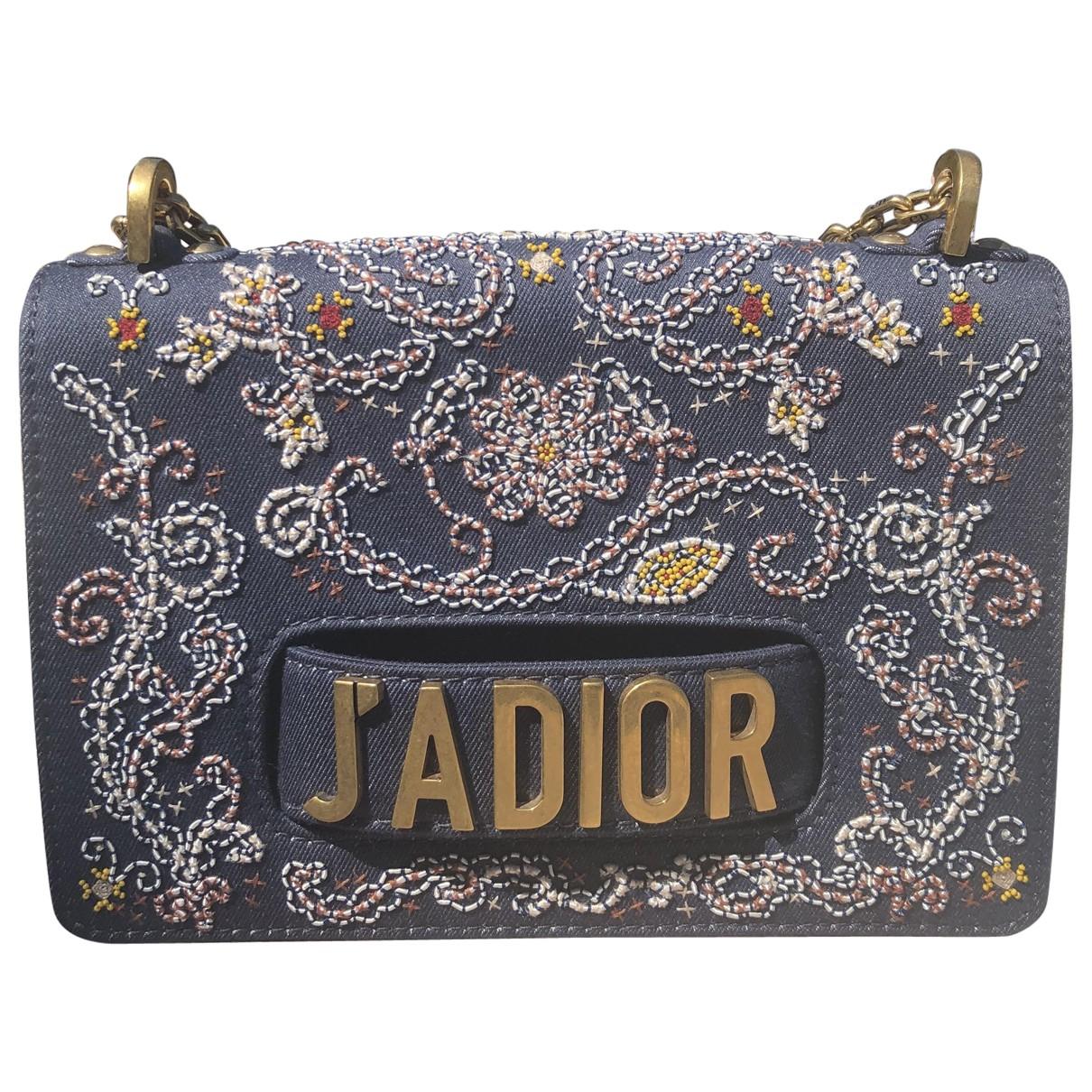 Dior J'adior Blue Denim - Jeans handbag for Women \N