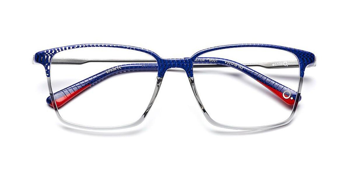 Etnia Barcelona Walter BLGY Mens Glasses Grey Size 54 - Free Lenses - HSA/FSA Insurance - Blue Light Block Available