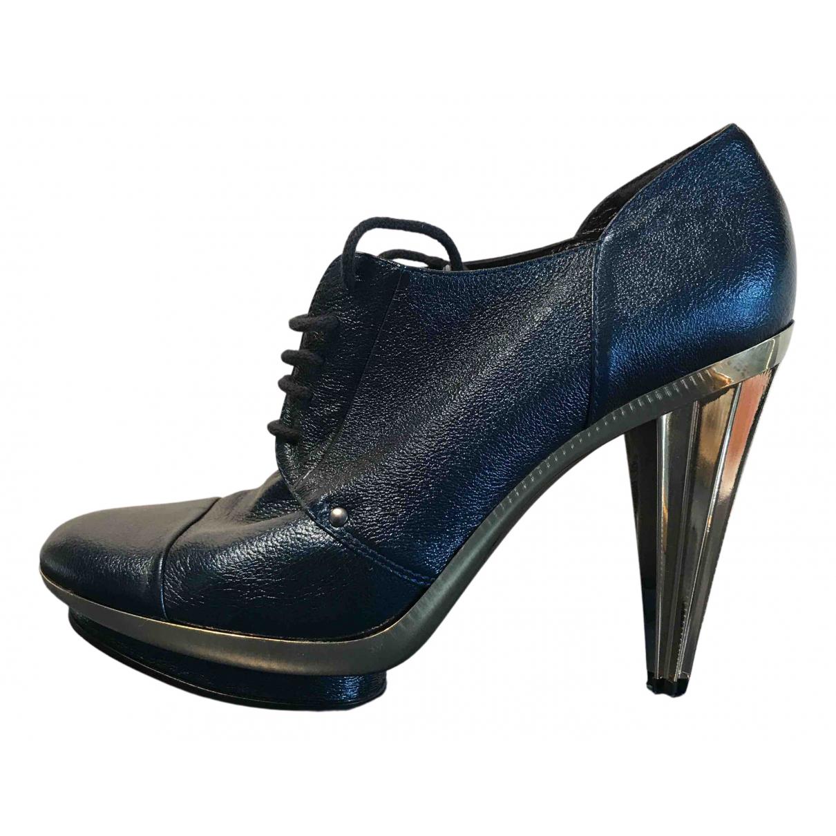 Sonia Rykiel \N Stiefeletten in  Blau Leder