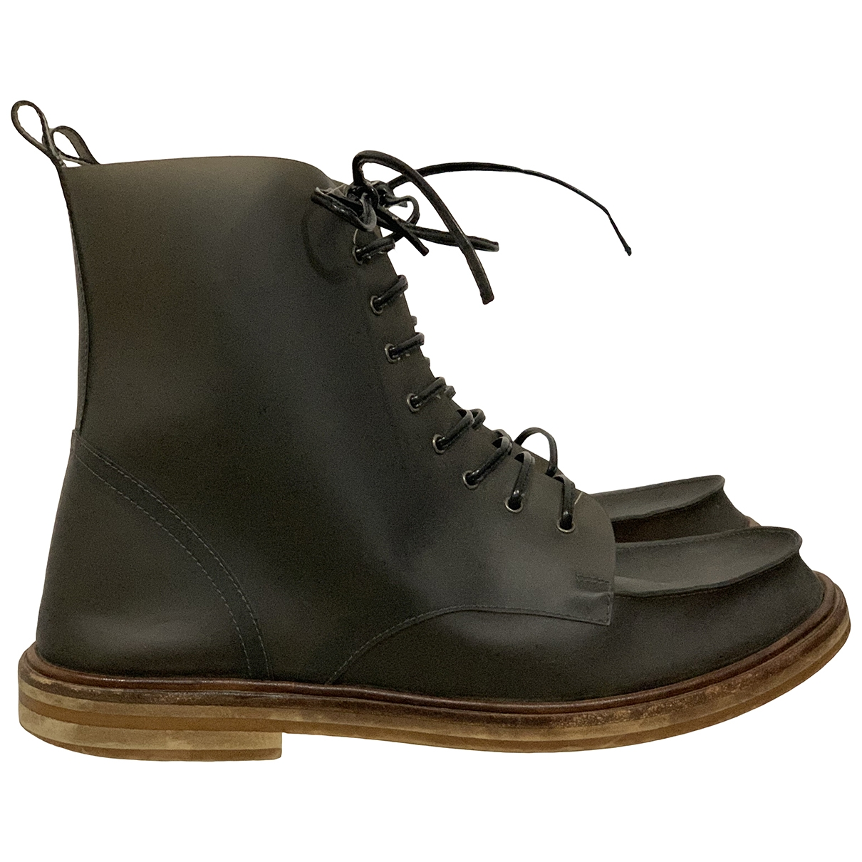 Mm6 \N Black Ankle boots for Women 37 EU