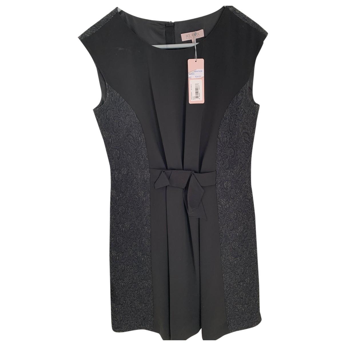 Dice Kayek \N Kleid in  Schwarz Wolle