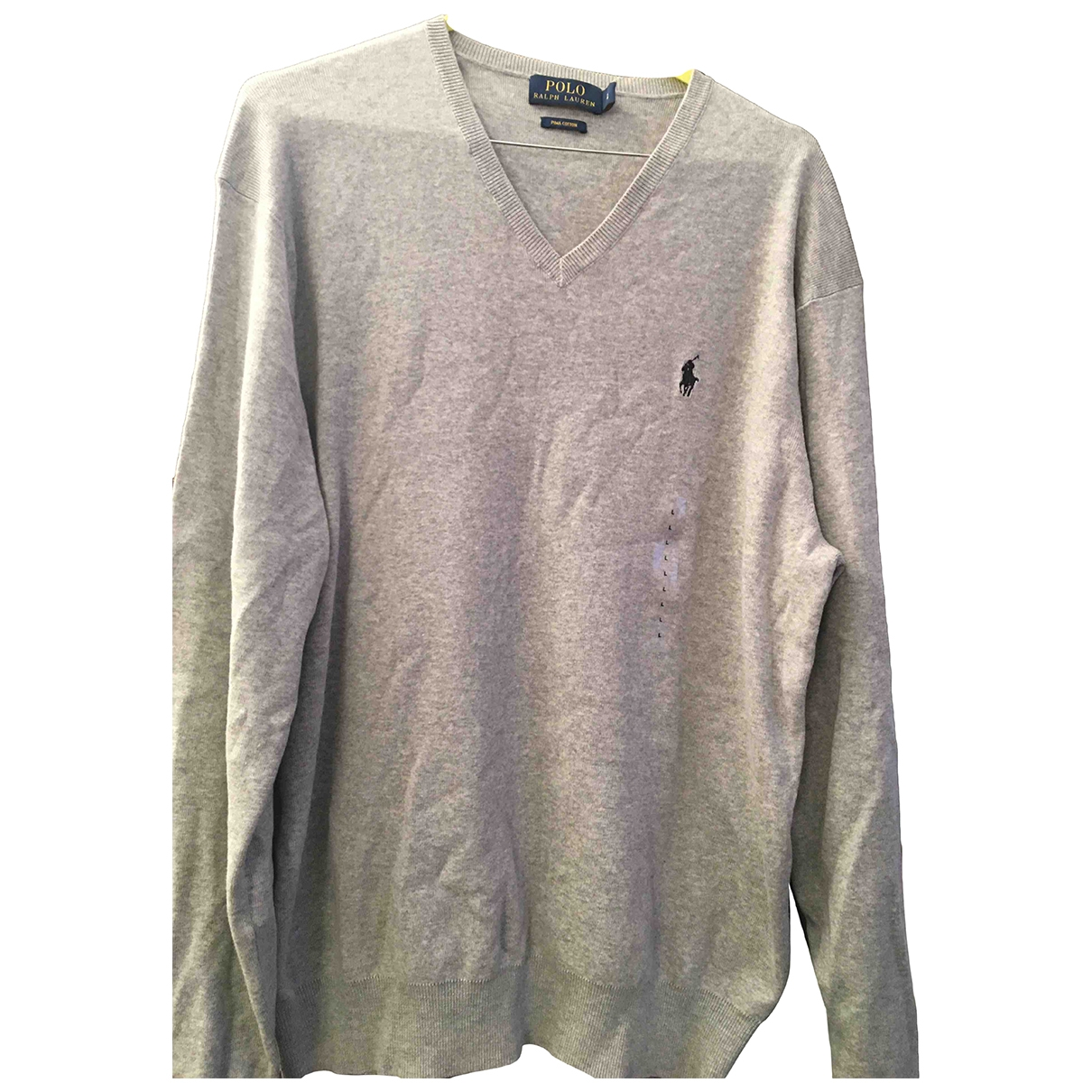 Polo Ralph Lauren \N Grey Cotton Knitwear & Sweatshirts for Men L International