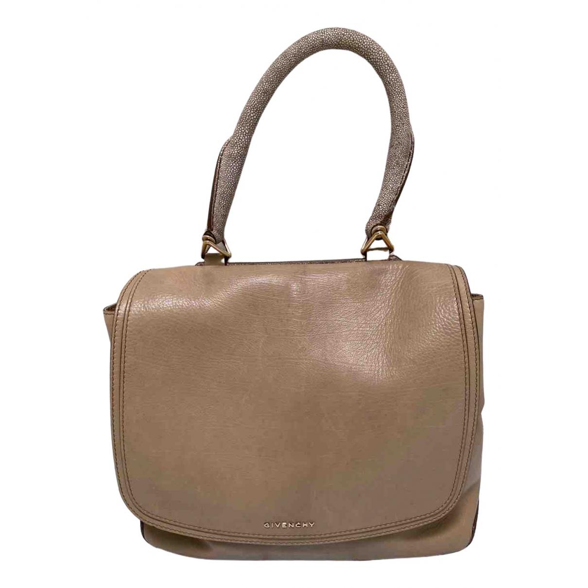 Givenchy \N Beige Leather handbag for Women \N