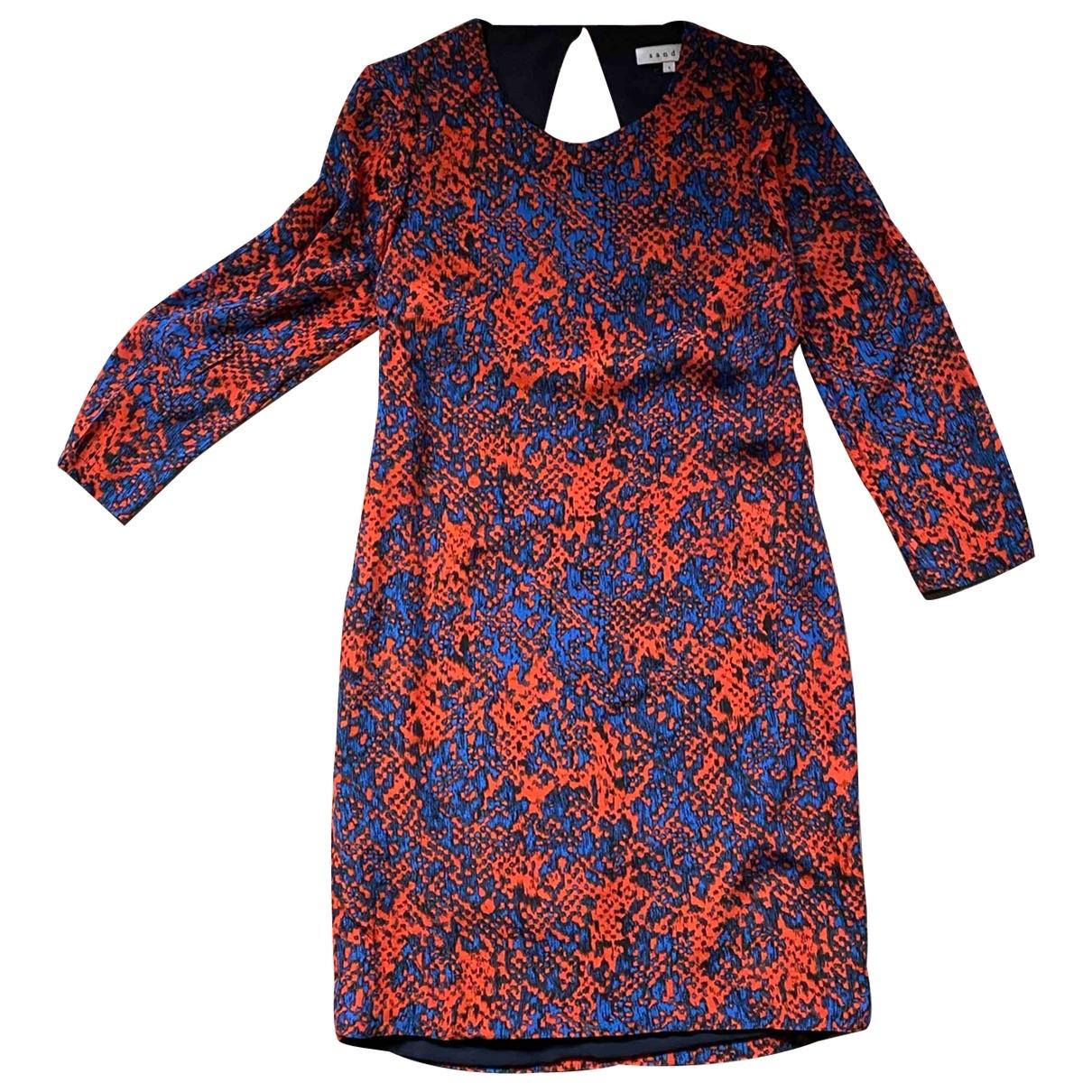 Sandro \N Orange dress for Women 36 FR