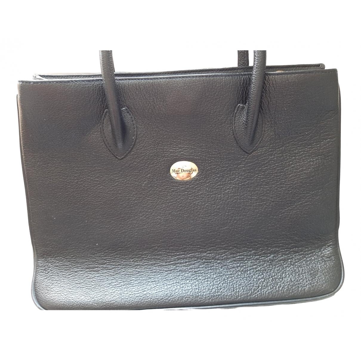 Mac Douglas \N Black Leather handbag for Women \N