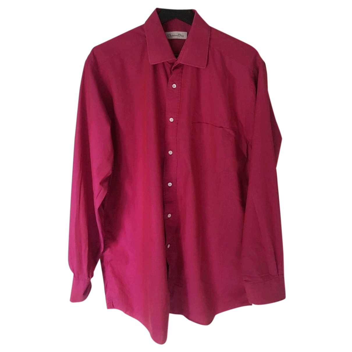 Dior Homme - Chemises   pour homme en coton - rouge