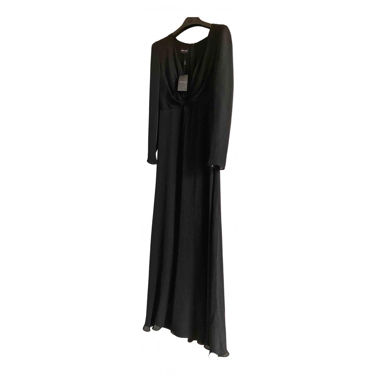Vestido de Seda Giorgio Armani