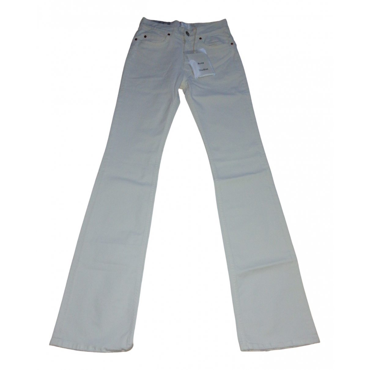 Acne Studios \N Cotton Jeans for Women 34 FR