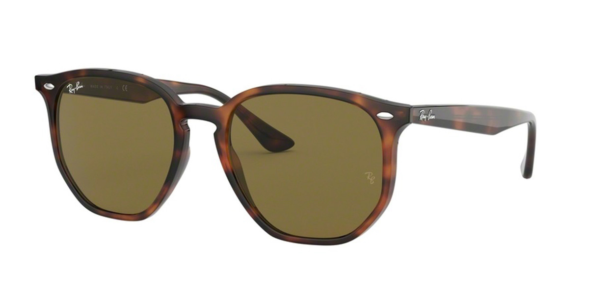 Ray-Ban RB4306F Asian Fit 710/73 Mens Sunglasses Tortoise Size 54