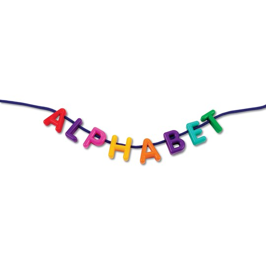 Learning Resources® Uppercase Lacing Alphabet | Michaels®