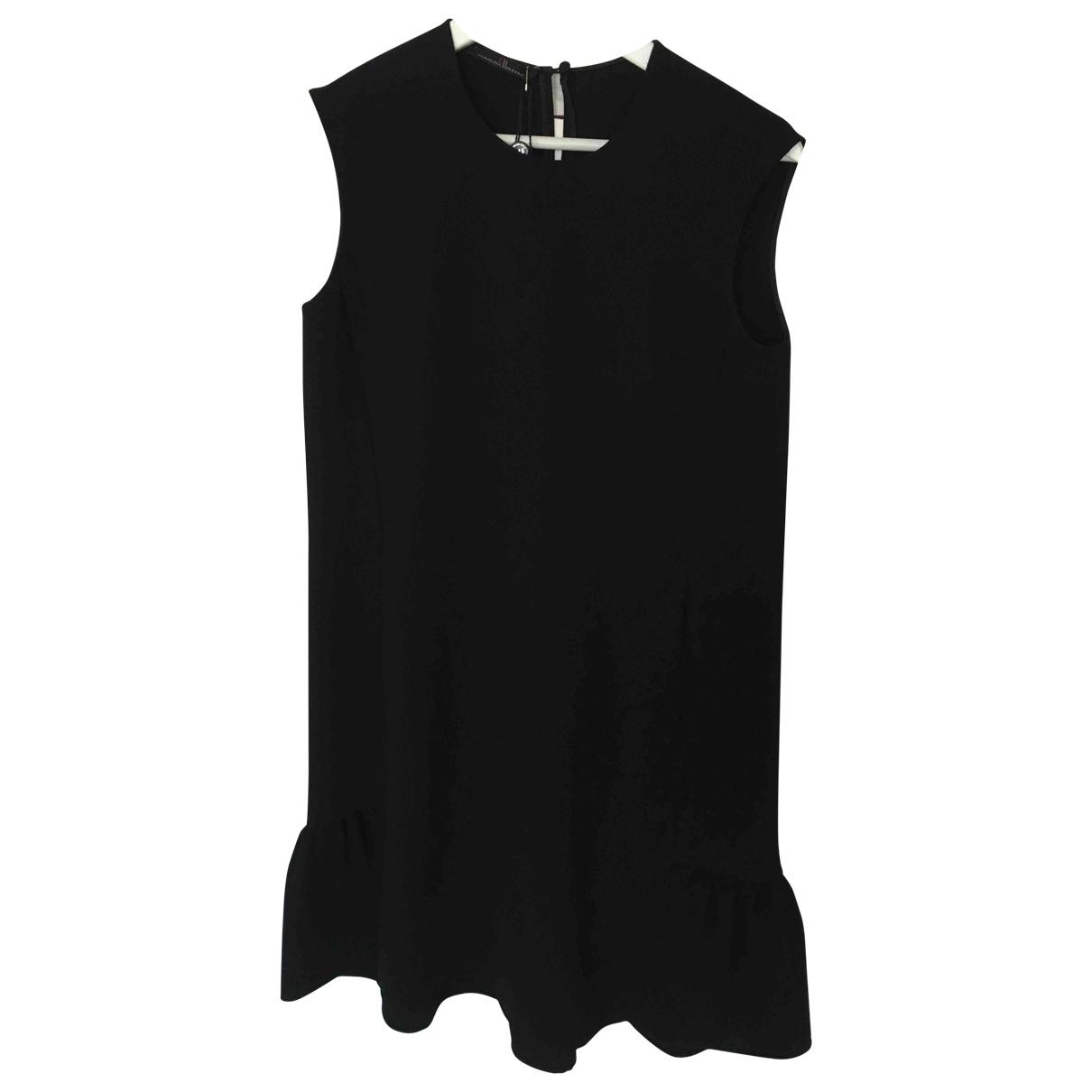 Carolina Herrera \N Kleid in  Schwarz Polyester